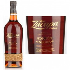Ron Zacapa Centenario Edicion Negra Solera Gran Reserva Rum 750 ml