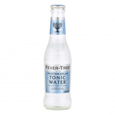 Fever-Tree Mediterranean Tonic Water Pack of 4 (6.8oz) Bottles