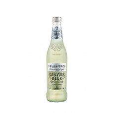 Fever-Tree Refreshingly Light Ginger Beer  Pack of 4 (6.8oz) Bottles