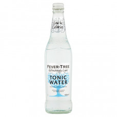 Fever-Tree Refreshingly Light Indian Tonic Water  Pack of 4 (6.8oz) Bottles