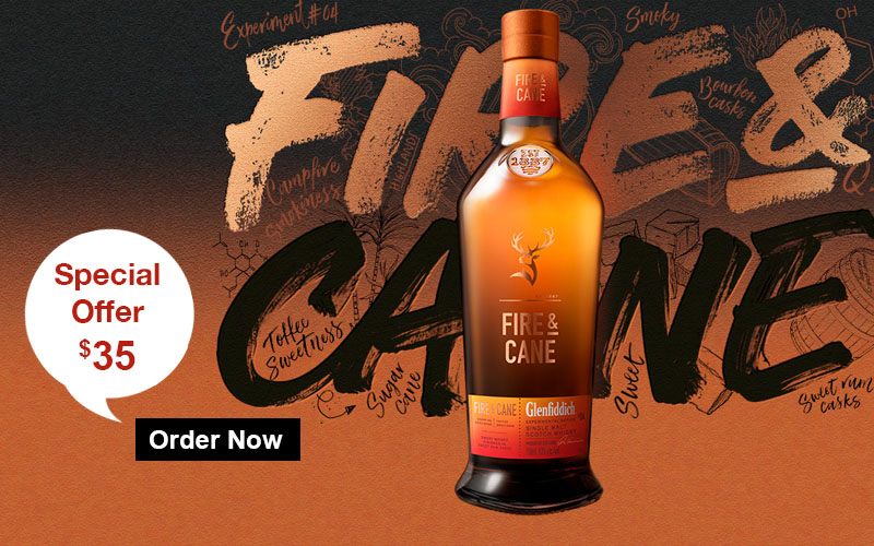 Glenfiddich Fire and Cane Experimental Single Malt Whisky